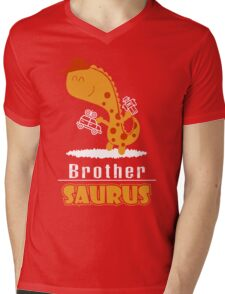 Brother saur -Funny family Shirt ,big brother little brother ,gifts for brother, big brother gifts,step brothers, Pillow, Phone case, hoodie, Mug Mens V-Neck T-Shirt