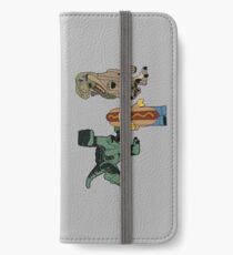 Catching Lunch redux iPhone Wallet/Case/Skin