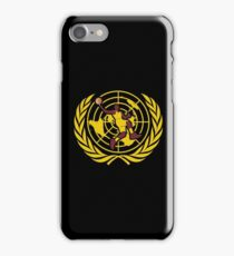 Flat Earth World Champions Classic Map Basketball iPhone Case/Skin