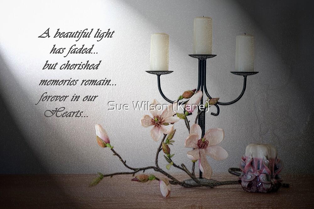 Bereavement Card by Sue Wilson (Kane)
