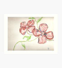 american blossoms of greg Art Print
