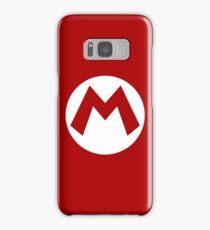 """M"" Logo Samsung Galaxy Case/Skin"