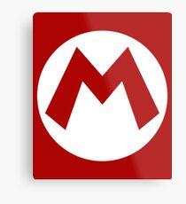"""""""M"""" Logo Metal Print"""