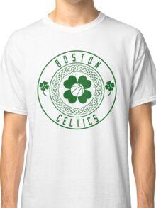 Boston Celtics Vintage Retro Logo Classic T-Shirt