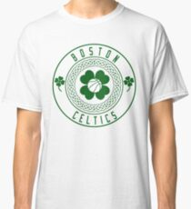 Boston Celtics Vintage Retro Logo Classic T-Shirt