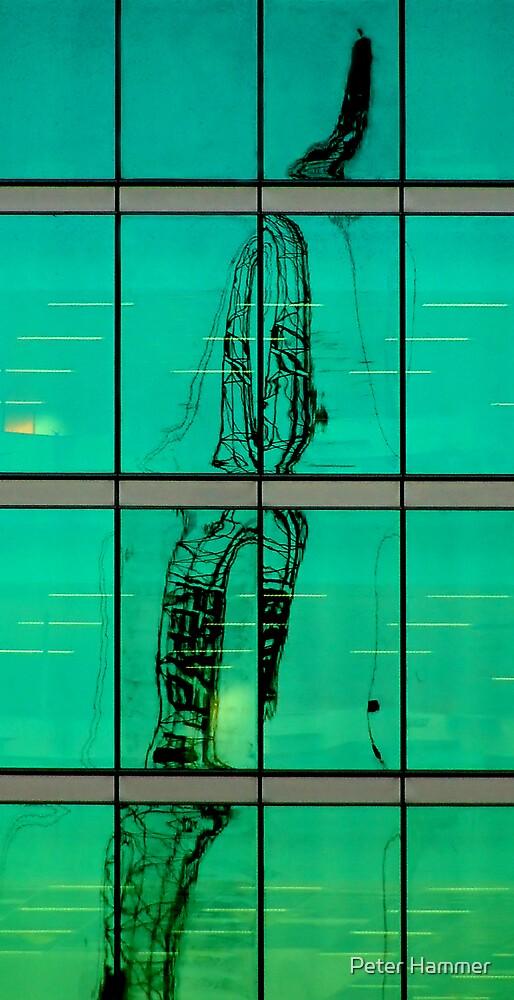 Molten crane by Peter Hammer