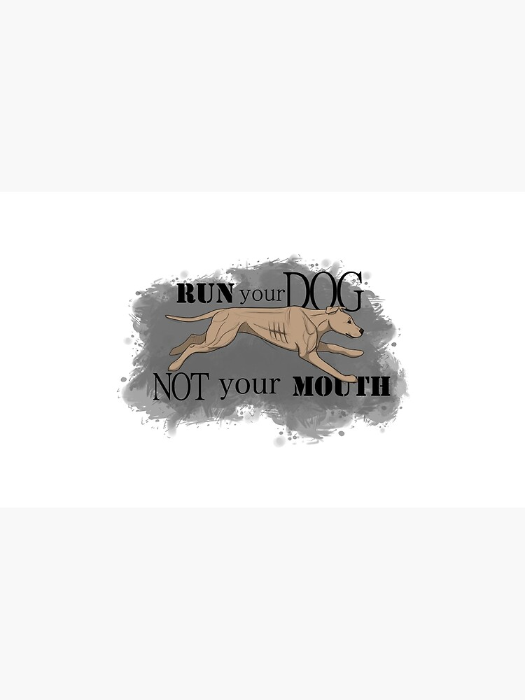 Run Your Dog Not Your Mouth American Pit Bull Terrier Light Fawn by maretjohnson