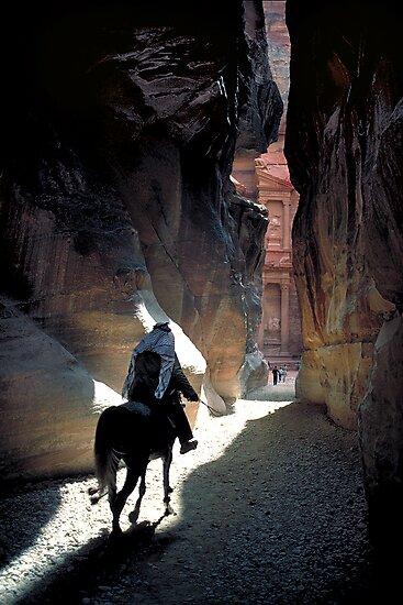 Petra Horseman by Mark Higgins