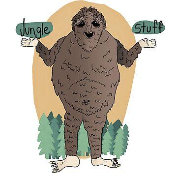 Skunkle Ape by JungleStuff