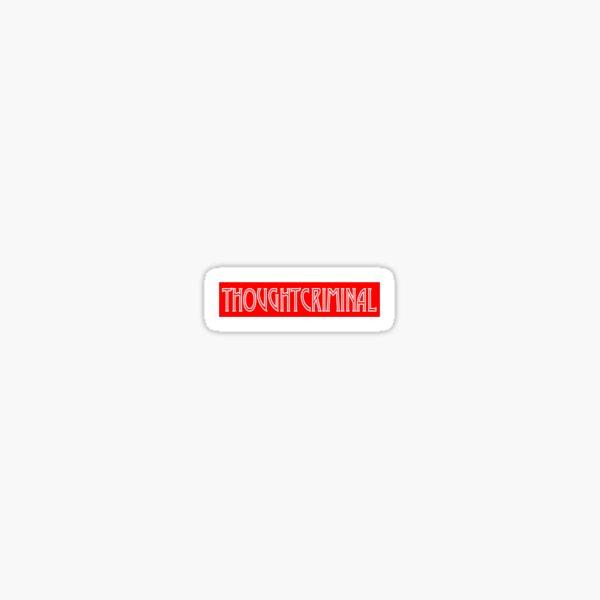 thoughtcriminal Sticker