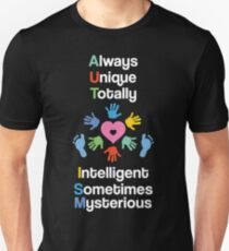 Autism awareness products clothing Unisex T-Shirt