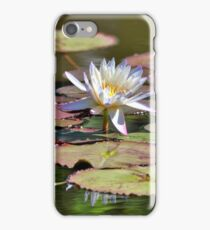 Lily At The Pond iPhone Case/Skin