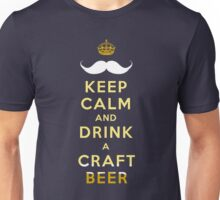 KEEP CALM - CRAFT BEER Unisex T-Shirt