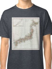 Vintage Map of Japan Classic T-Shirt
