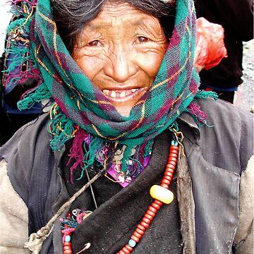 Tibetan  Elder by probono