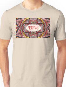 Love Pattern Unisex T-Shirt