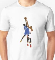 Andrew Wiggins Dunk On Hassan Whiteside  Unisex T-Shirt