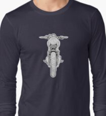 Motorcycle Front Long Sleeve T-Shirt
