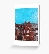 Hull, Backs of Houses Greeting Card