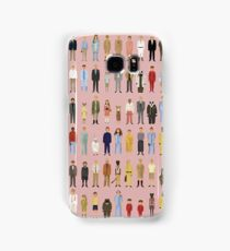 Wes Anderson Cartoon Characters Samsung Galaxy Case/Skin