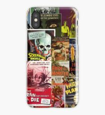Monster Movies iPhone Case