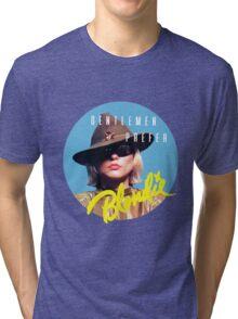 Gentlemen Prefer BLONDIE Tri-blend T-Shirt