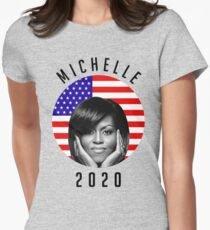 michelle 2020 Womens Fitted T-Shirt