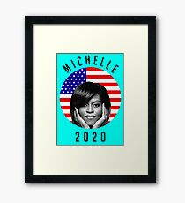 michelle 2020 Framed Print
