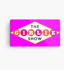 30ROCK - The Girlie Show Metal Print
