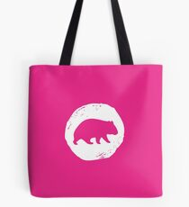 Wombat Alley Weiß Tote Bag
