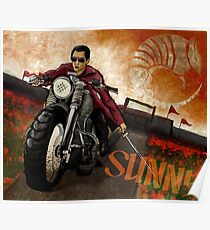 Into the Badlands - Sunny Poster