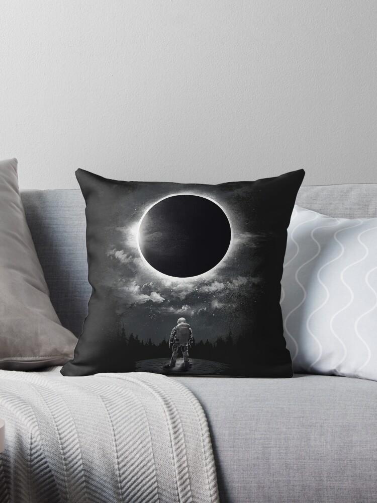 Eclipse Throw Pillow By Dandingeroz Redbubble