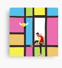 Superduperkyle question block  Canvas Print