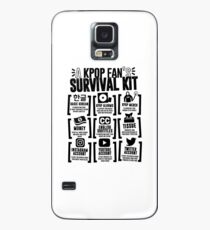 Funda/vinilo para Samsung Galaxy KIT DE SUPERVIVENCIA DE UN FAN KPOP (Whiter Ver.)
