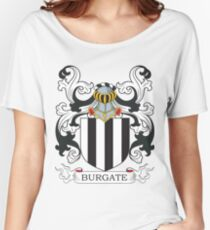 Burgate Coat of Arms Women's Relaxed Fit T-Shirt