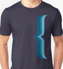 Bracket - Blue Unisex T-Shirt