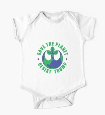 Save The Planet Resist Trump Kids Clothes