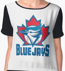 Toronto Blue Jays Chiffon Top
