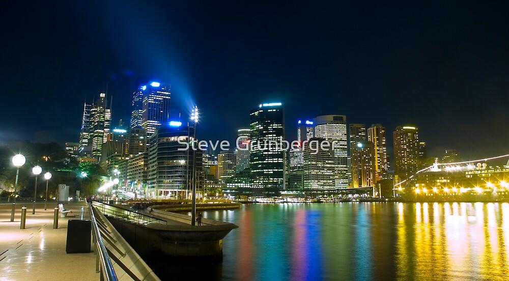 Sydney City from the Opera House by Steve Grunberger