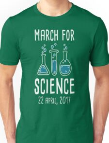 March For Science T-Shirt  Unisex T-Shirt