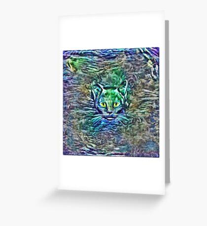 Maritime cat Greeting Card