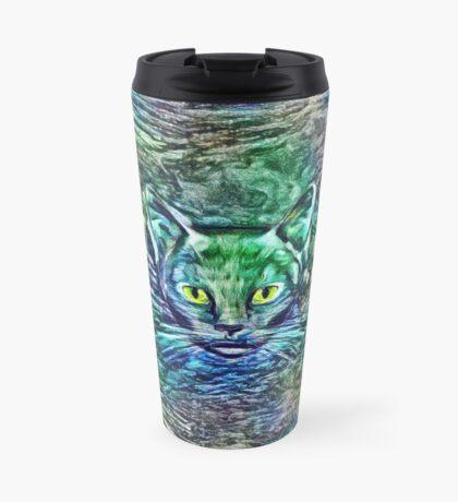 Maritime cat Travel Mug