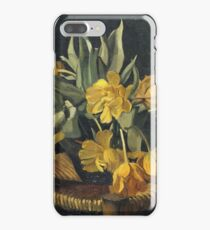 Felix Vallotton - Double Yellow Tulips On A Wicker Chair iPhone 7 Plus Case
