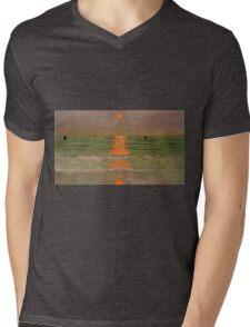 Felix Vallotton - Sunset Mens V-Neck T-Shirt
