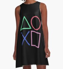 Playstation 4 D Pad A-Line Dress