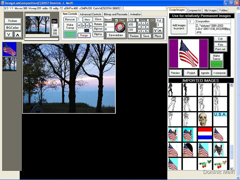 SCREEN SHOT DesignLabComposition Transparent Ranges by Dominic Melfi