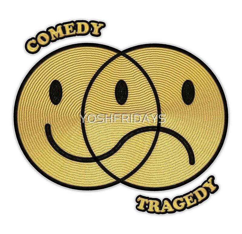 Comedy Tragedy Smiley\