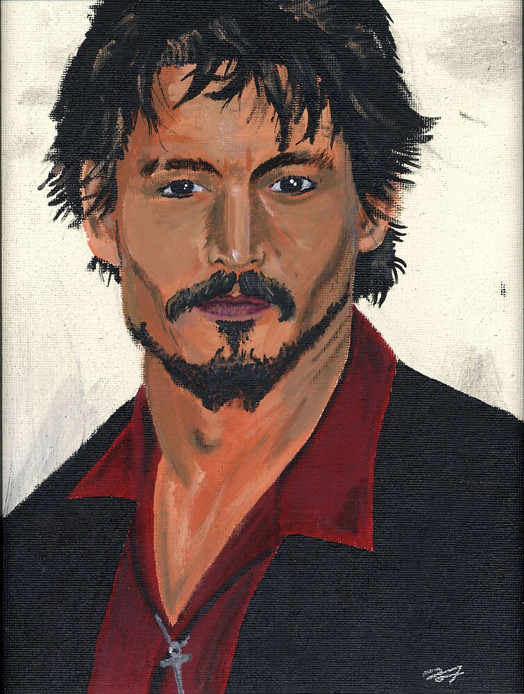 Johnny Depp by barstow