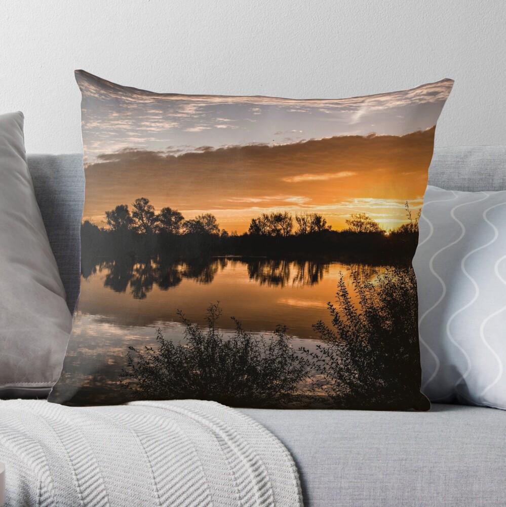 Sunset Skies Throw Pillow