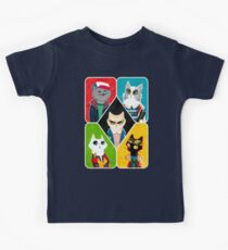 Stranger Cats Kids Clothes